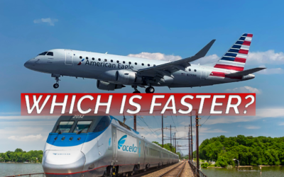 Acela vs. Airplane: Which one's Faster?
